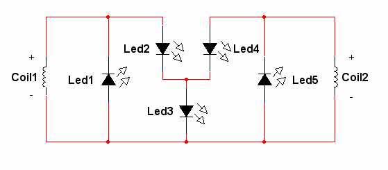 Схема питания фонаря от
