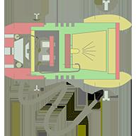 Схема самодельного светодиодного фонарика на литий-ионных аккумуляторах...