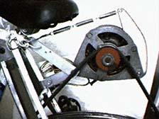 Самодельный генератор на базе велосипеда и автомобильной динамо-машины