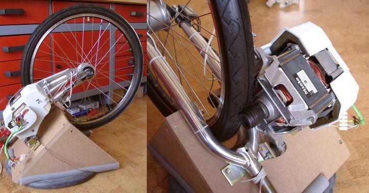 с велосипедной динамо-