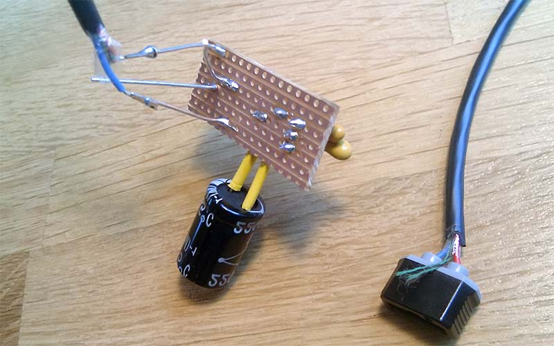 Плата зарядки через USB