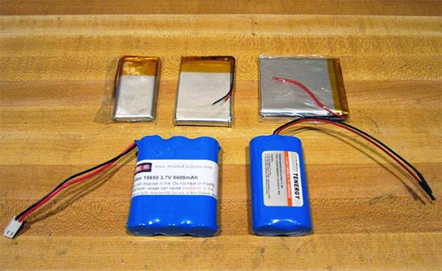 Аккумуляторы для зарядных устройств