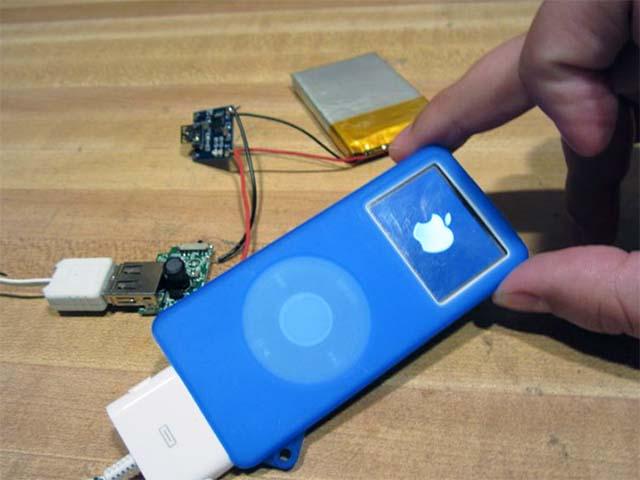 Зарядка для iPod своими руками