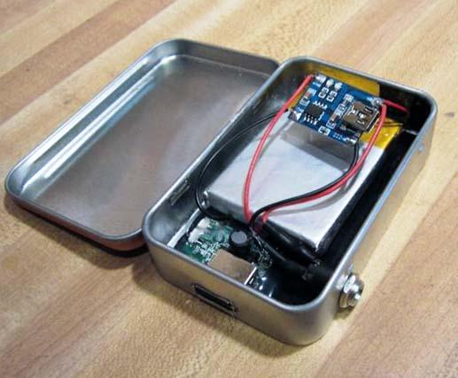 Компактная зарядка для телефона своими руками