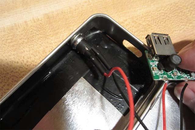 Размещение электронных компонентов в корпусе