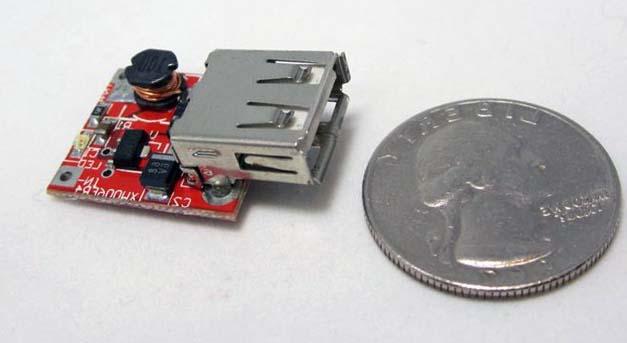 Размер порта USB