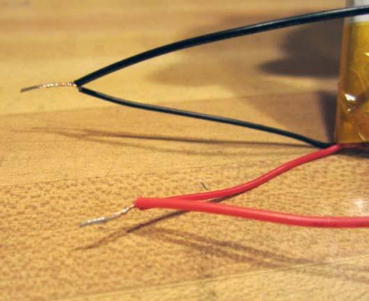 Скрутка проводков зарядки