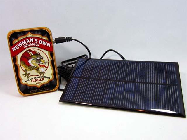 Универсальная самодельная USB зарядка на солнечных батареях