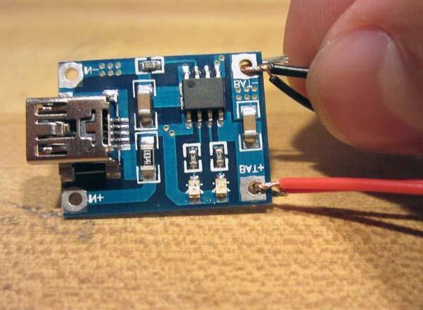 Распайка USB разъёма для зарядки