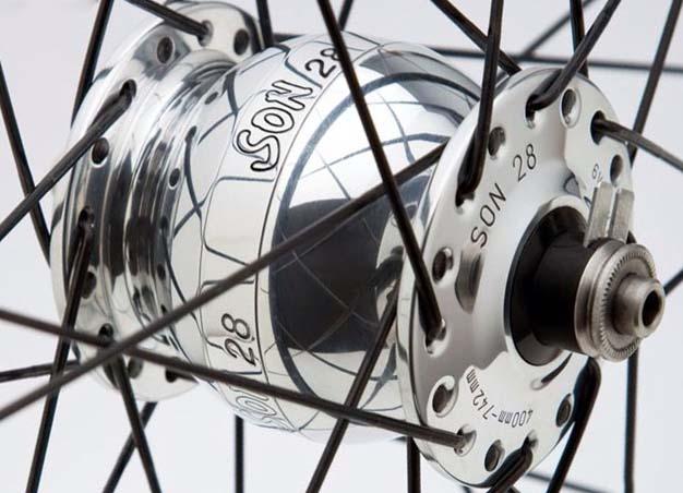 Велосипедная динамо-втулка Schmidt SON28