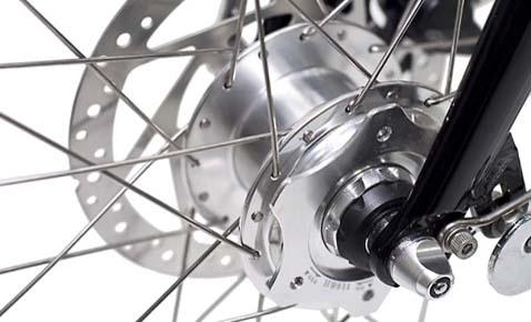 Динамо-втулка для велосипеда Biologic Joule 3