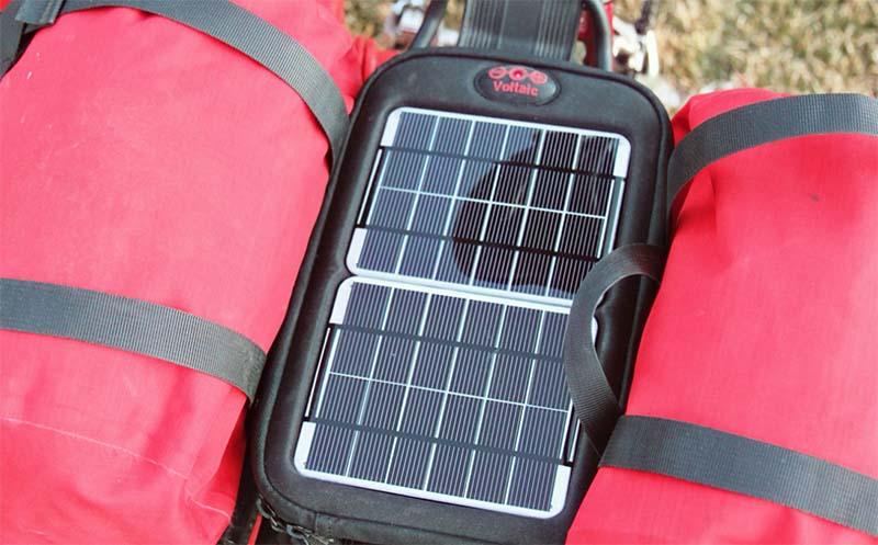 Солнечная зарядка Voltaic