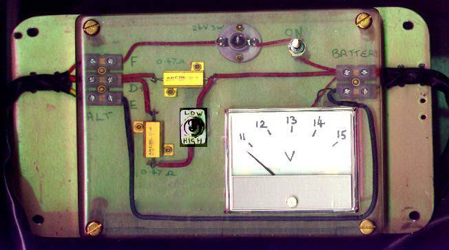 Электросхема педального генератора