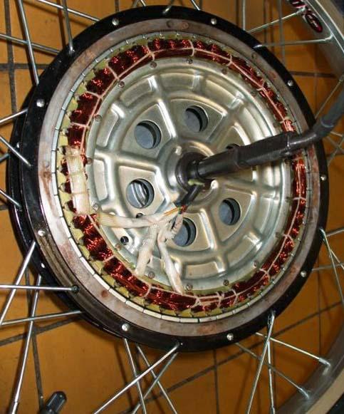 Внутреннее устройство двигателя втулки