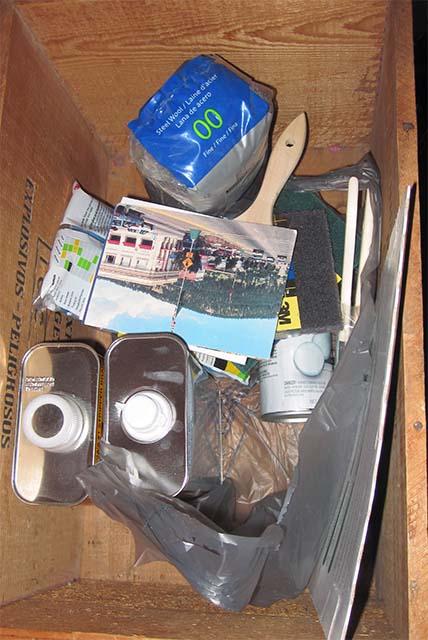 Необходимые для снятия краски инструменты и материалы