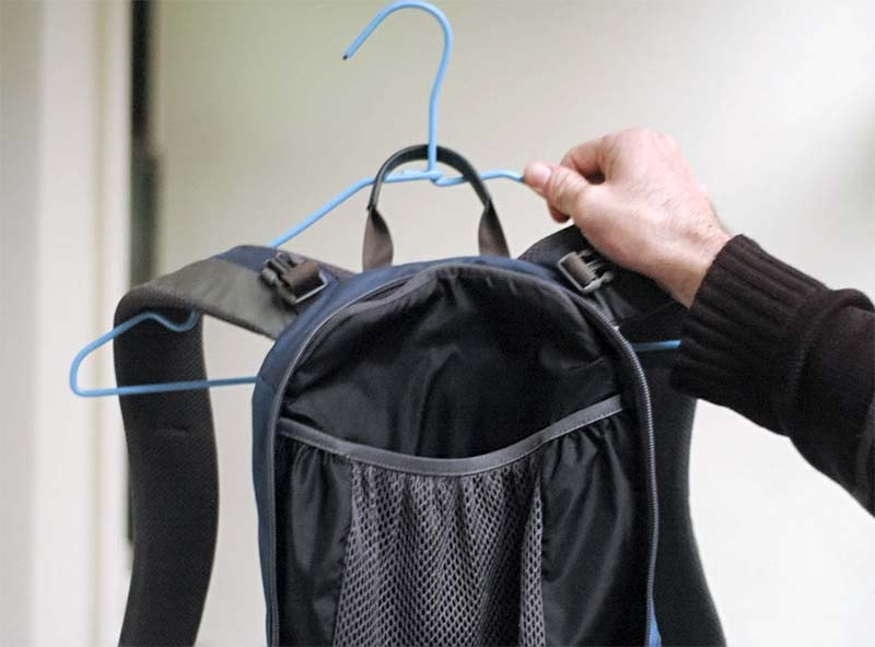 Сушка рюкзака после стирки