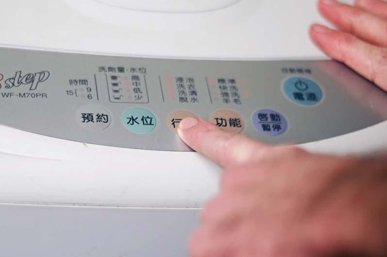 Выбор режима стирки рюкзака в стиральной машине