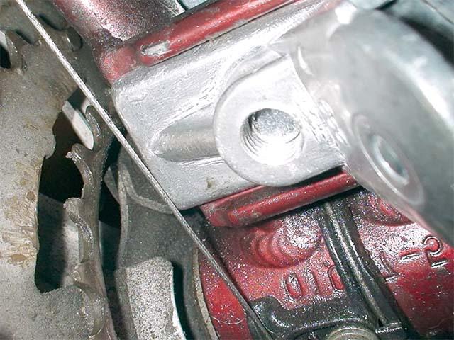 Подножка и тросик переключения передач