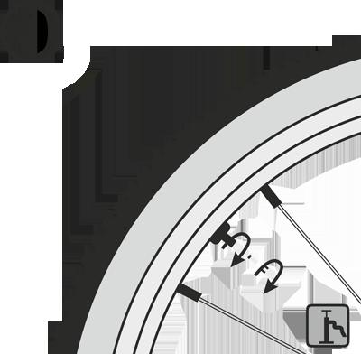 Бескамерное колесо