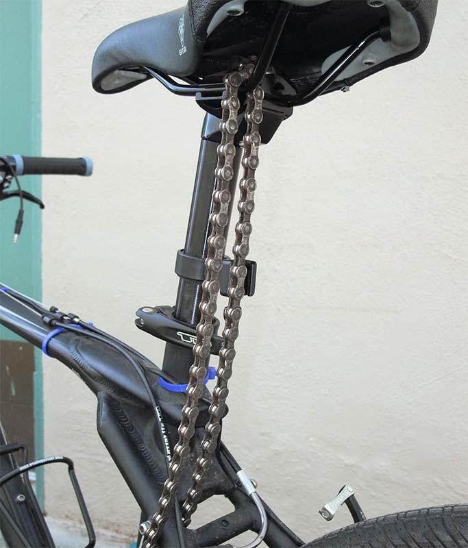 Как сделать велосипедную цепь своими руками