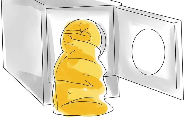 Сушка спального мешка в сушилке