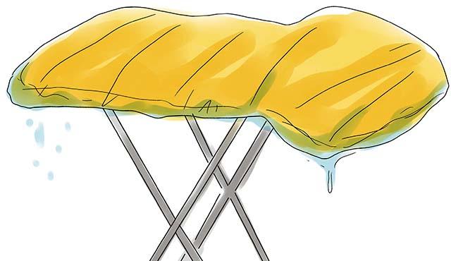 Сушка спального мешка в естественных условиях
