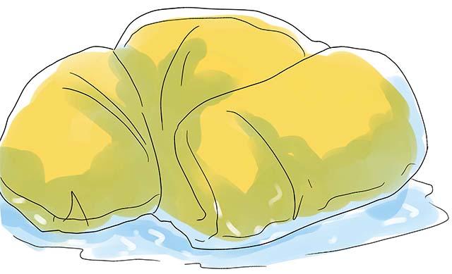 Влажный спальный мешок