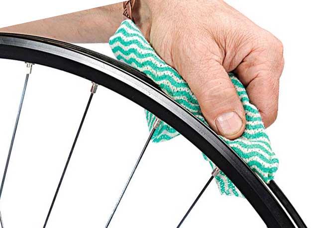 Снятие велосипедной покрышки