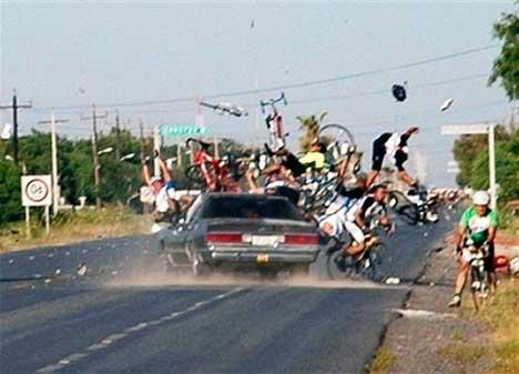 Травма в велопоходе