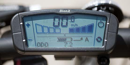 Пульт управления BionX