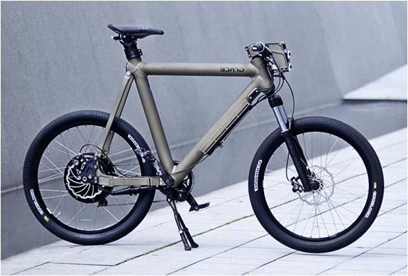 Электровелосипед Grace с регенеративным торможением