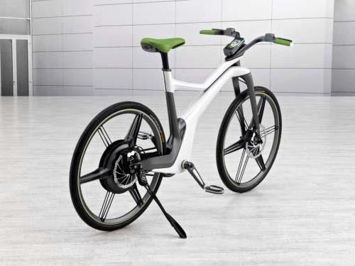 Электрический велосипед Smart Bike c рекуперативным торможением на базе комплекта BionX