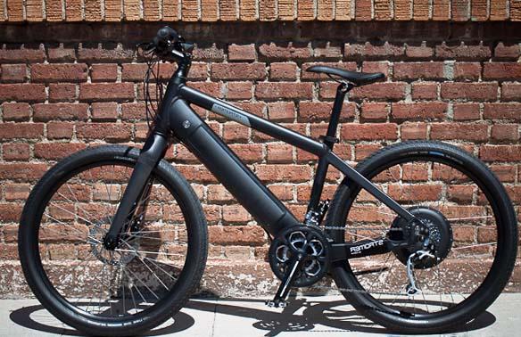 Электровелосипед Stromer St1 с системой рекуперативного торможения