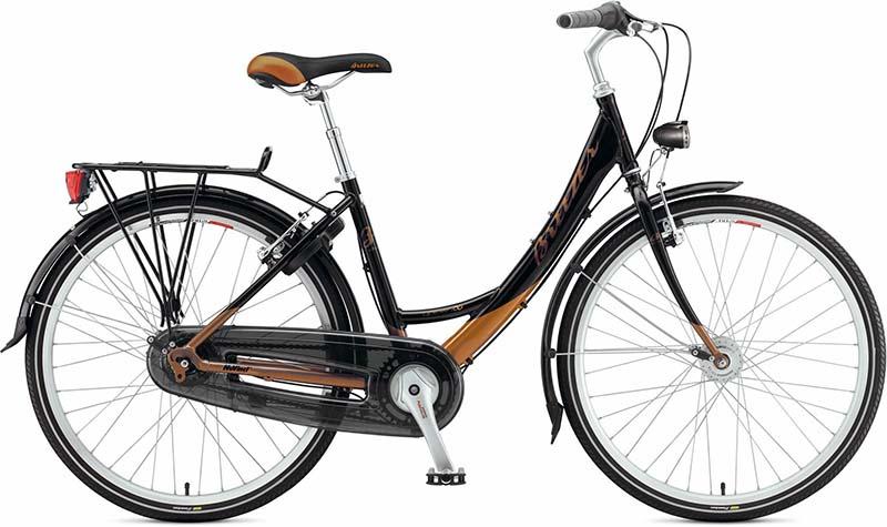 Самый лучший гибридный велосипед для города Breezer Uptown Infinity