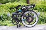 Складной велосипед на базе комплекта BionX 350 W