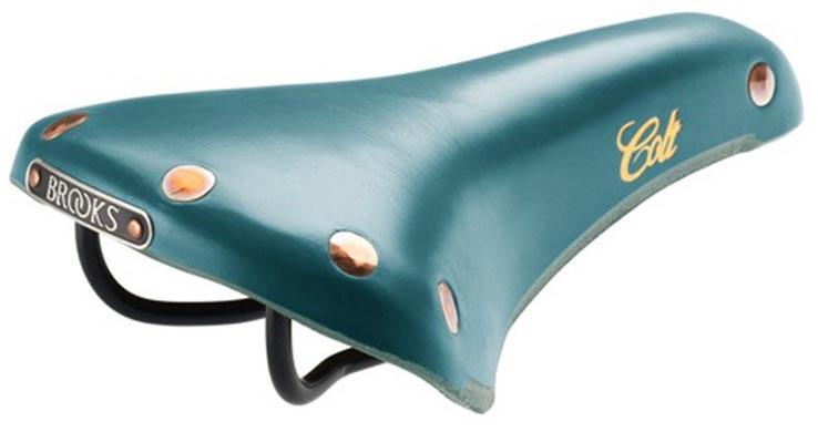 Кожаное седло Brooks Colt для велосипеда