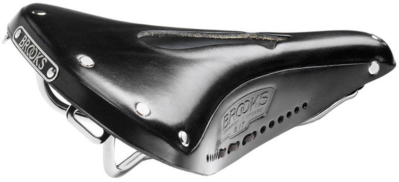 Кожаное седло Brooks B17 Imperial для велосипеда