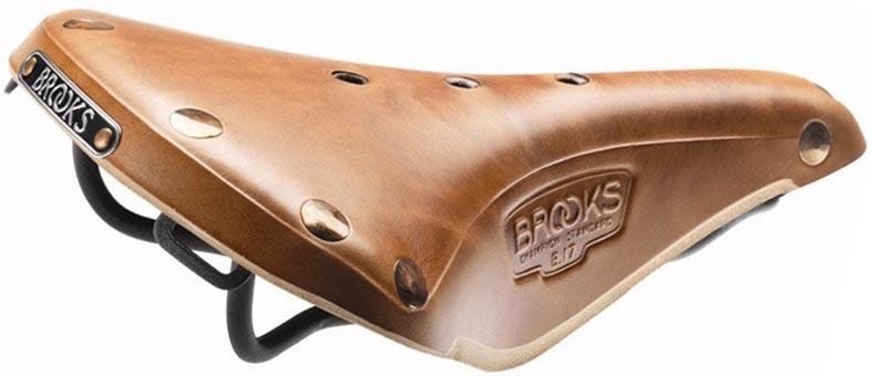 Кожаное седло Brooks B17 Select для велосипеда