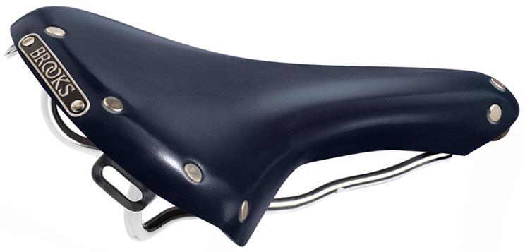 Кожаное седло Brooks Blue Swallow Limited Edition для велосипеда