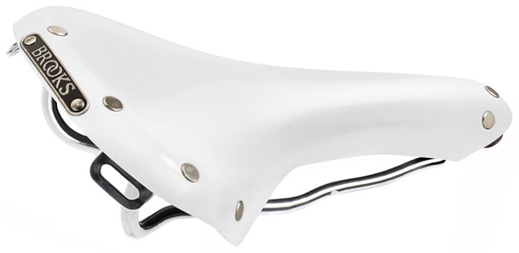 Кожаное седло Brooks White Swallow Limited Edition для велосипеда