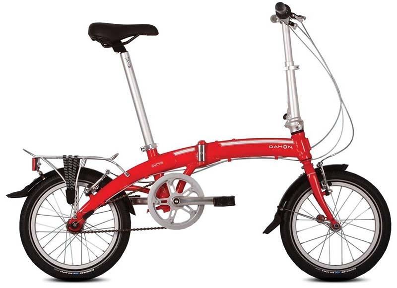 Складной велосипед Dahon Curve D3 с планетарной втулкой Sturmey Archer
