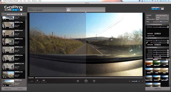 Применение фильтров Protune от CineForm Studio
