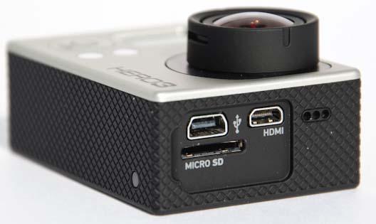 Разъёмы на камере GoPro Hero 3 Black Edition
