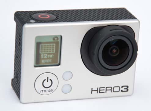 Внешний вид камеры GoPro Black Edition