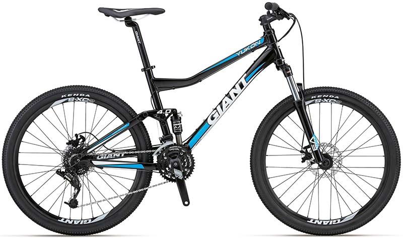 Горный трейловый велосипед Giant Yukon FX