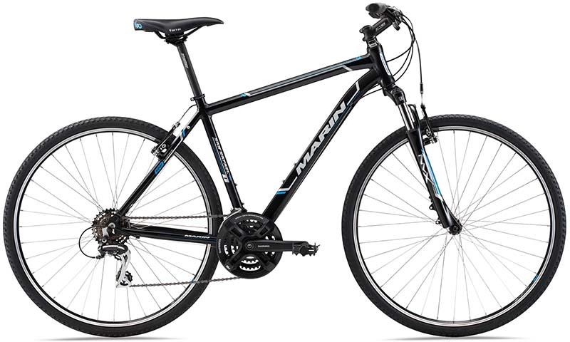 Недорогой гибридный велосипед Marin San Rafael DS1