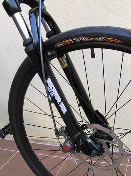 Вилка велосипеда Dahon Matrix