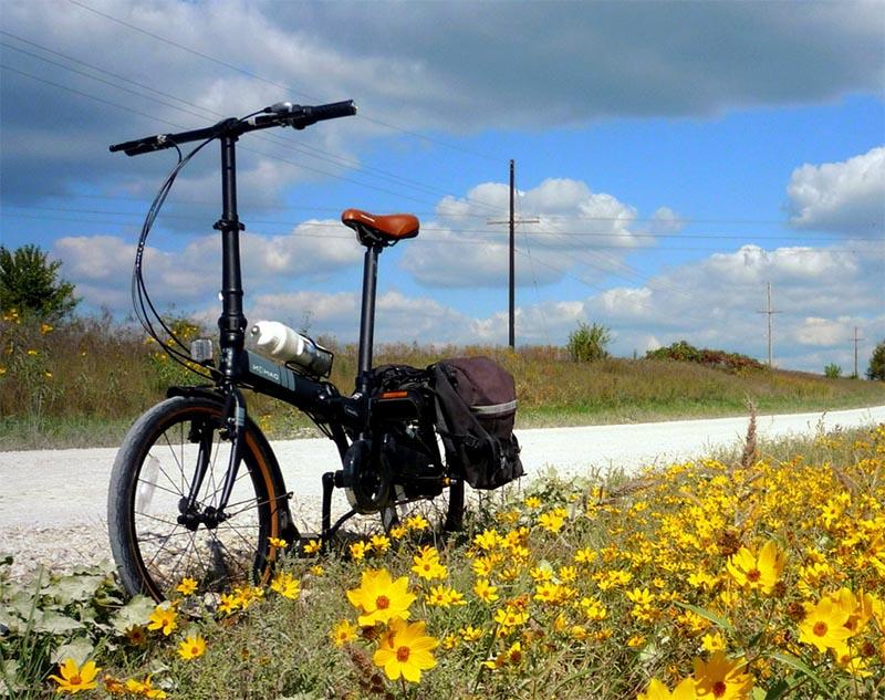 Складной велосипед Dahon Vitesse D7HG 2013 с планетарной втулкой Shimano Nexus 7