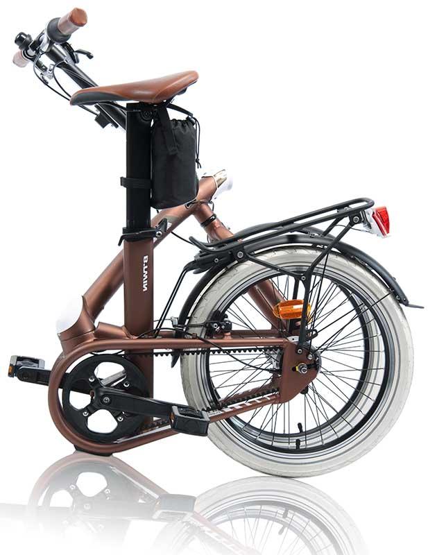 Велосипед B'Twin Tilt 9 в сложенном состоянии