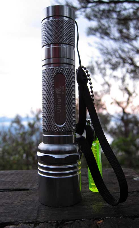 Фонарик со светодиодом Ultrafire WF504B